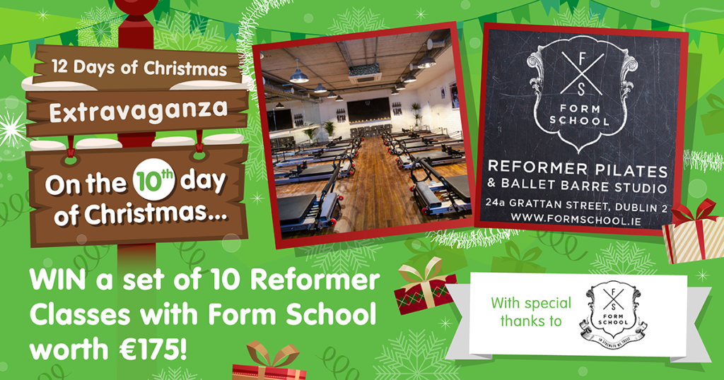 Win 10 Pilates Classes with Form School