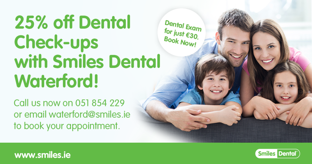 25% off Dental Check-ups