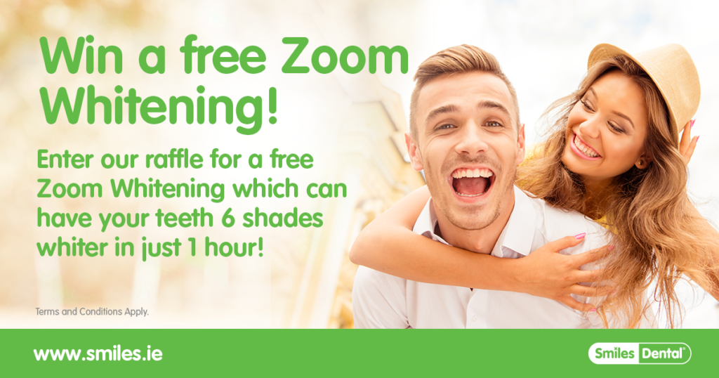 win a zoom whitening treatment
